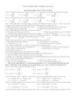 1552  câu hỏi trắc nghiệm vật lý lớp 12 ôn thi đại học và cao đẳng