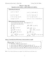 Đề cương ôn thi vào lớp 10 trung học phổ thông mới môn toán