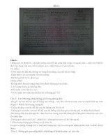 tổng hợp đề thi và lời giải môn kỹ thuật thông gió