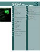 Hướng dẫn sử dụng biến tần G120 Siemens