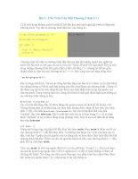 Giáo án - Bài giảng: TÀI LIỆU LẬP TRÌNH HƯỚNG ĐỐI TƯỢNG C++