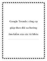 Google Trends: công cụ giúp theo dõi xu hướng tìm kiếm của các từ khóa pdf