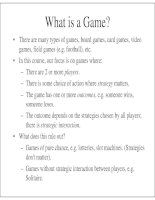 lectures note on game theory - john duffy