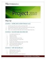Giáo trình project 2010