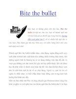 Bite the bullet doc