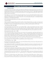 báo cáo phân tích ngành bất động sản