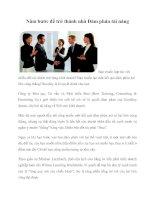 Năm bước để trở thành nhà Đàm phán tài năng pot