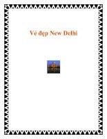 Vẻ đẹp New Delhi potx