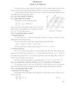 Tài liệu Môn tấm và vỏ - Chương 9 Tính vỏ thoải