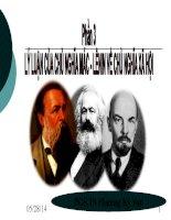 lý luạn cảu chủ nghĩa mác lê nin về chủ nghĩa xã hội