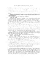 Bài luận môn Nhân học đại cương