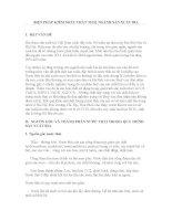 BIỆN PHÁP KIỂM SOÁT CHẤT THẢI NGÀNH SẢN XUẤT BIA