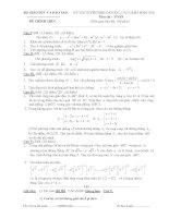 Đề thi đại học môn toán từ 2002 đến 2010 và đáp án