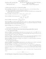 4 đề thi thử đại học môn toán có đáp án (4)