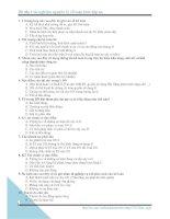80 câu trắc nghiệm nguyên lý kế toán kèm đáp án