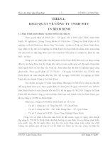 Báo cáo kiến tập chi phí sản xuất và giá thành sản phẩm tại công ty tnhh in Bình Định