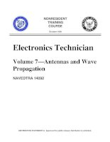 Electronics Technician Volume 7 Antennas and Wave Propagation