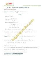 Các dạng toán câu hỏi phụ hàm số trọng tâm thường gặp trong đề thi đại học