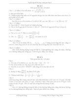 Tuyển chọn đề thi chọn học sinh giỏi toán 6 THCS