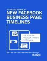 guide to new facebook business page timelines
