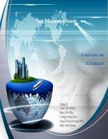 Bài thuyết trình thương mại điện tử ( nhóm 3 )