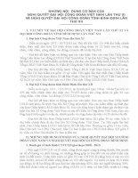 Nghị quyết đại hội XI công đoàn việt nam