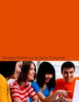 Design pattern tutorial