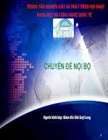 Chuyên đề Vistip Quy luật kinh tế 20/80