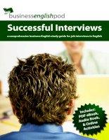 Successful interviews ( Thành công trong phỏng vấn)
