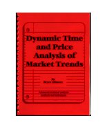 dynamic time and price analysis of market trends - gilmore 1997