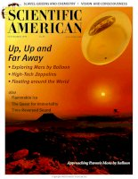 scientific american   -  1999 11  -  up, up and far away