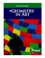 Math Concept Reader MCR g6 geometry in art