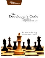 the  developers  code