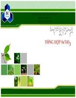 Các phương pháp tổng hợp SrTiO3