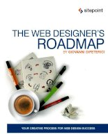 the web designer's roadmap[electronic resource] your creative process for web design success