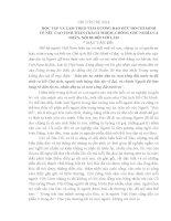 TAI LIEU HỌC TẬP VÀ LÀM THEO TẤM GƯƠNG ĐẠO ĐỨC HỒ CHÍ MINH NAM 2014