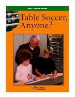 Math Concept Reader MCR g5 table soccer  anyone