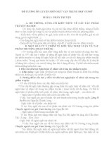 Định hướng ôn thi môn Ngữ Văn tuyển sinh 10