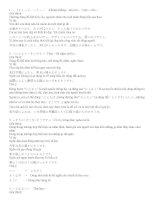 Ngữ pháp tiếng Nhật  N4