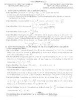 Đề thi thử toán lần 2 năm 2014 trường Hà Huy Tập