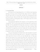 SKKN môn ngữ văn rèn kỹ năng viết văn nghị luận cho học sinh lớp 9 theo chuẩn kiến thức kỹ năng