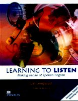 Lin lougheed  learning to listen