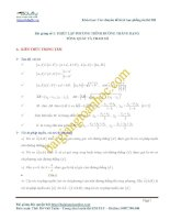 Sách chuyên đề phần hình học giải tích phẳng oxy dành cho luyện thi đại học 2013 2014