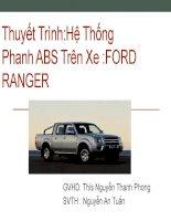 Bài thuyết trình: Hệ Thống Phanh ABS Trên Xe: Ford Ranger
