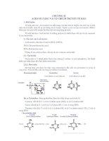 chương ii acid nucleic và cơ chế di truyền tế bào