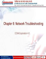 Chapter 08 network troubleshooting