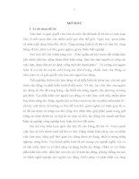 DỊCH VỤ VIỆC LÀM TRÊN ĐỊA BÀN TỈNH HẢI DƯƠNG - LUẬN VĂN THẠC SĨ KINH TẾ CHÍNH TRỊ