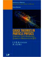 aitchison, hey. gauge theories in particle physics vol 1