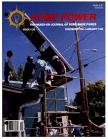 home power magazine  -  issue 026  -  1991 - 12 - 1992 - 01
