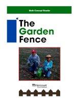 Math Concept Reader MCR g3 the garden fence
